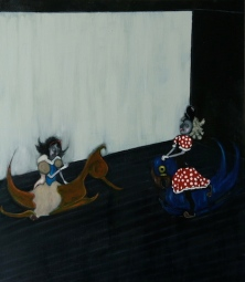 The Play Room, Birthday Party, 2014, oil on canvas, 60 x 70 cm
