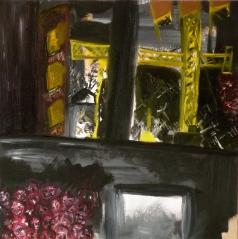 Poble Sec, 2009, oil on board, 30 x 30 cm