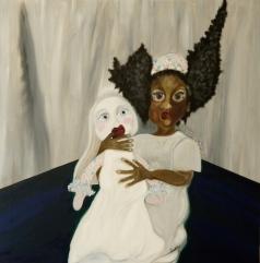 The Play Room, Sandrinha, 2014, oil on canvas, 80 x 80 cm