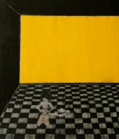 The Play Room, here she is, 2014, oil on canvas, 60 x 70 cm