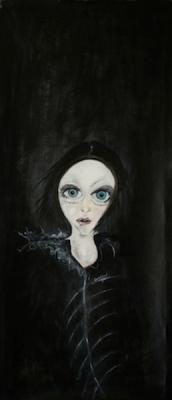 Valentina, 2014, oil on canvas, 50 x 120 cm