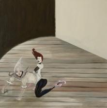 The Play Room, Cavalinho, 2014, oil on canvas, 60 x 60 cm