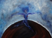 Dancing The Azimuth, 2011, oil on canvas, 60 X 45 cm